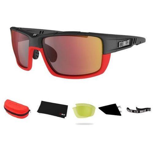 Sportowe okulary przeciwsłoneczne Bliz Tracker Ozon czerwone