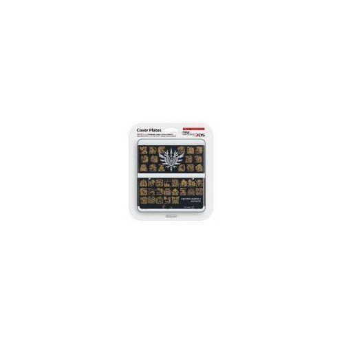 New 3DS Cover Plate Monster Hunter 4 czarna