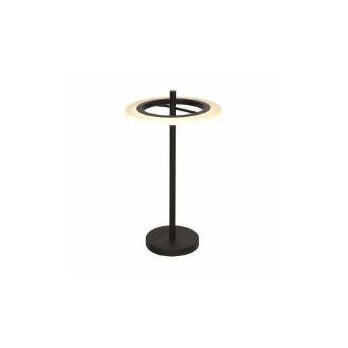Lampka led cosmo 1 x 12 w czarna marki Milagro