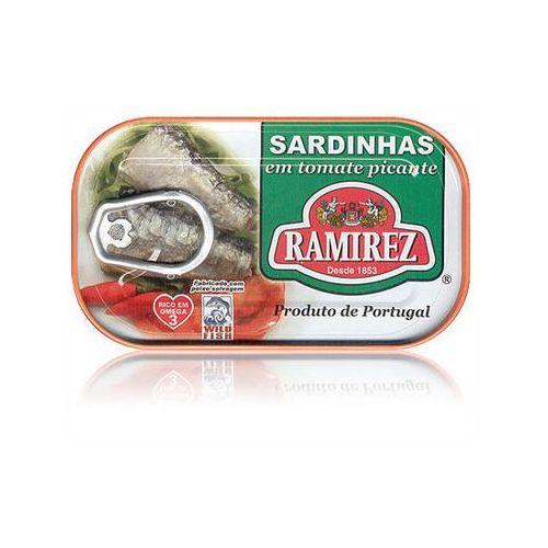Ramirez Sardynki portugalskie pikantne w pomidorach 125g (5601010111257)