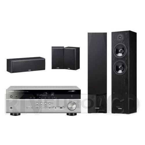 Yamaha MusicCast RX-V485 (tytanowy), NS-F51/NS-P51 (czarny) (0000001171941)