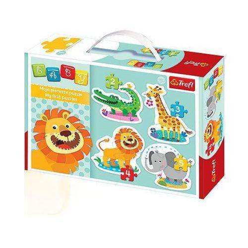 Trefl Baby puzzle na safari
