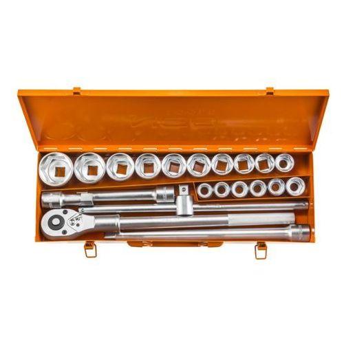 Neo Zestaw kluczy nasadowych 3/4 cala 08-061 (21 elementów) + zamów z dostawą jutro! + darmowy transport!