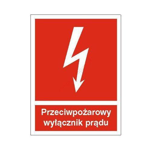 Znak Przeciwpożarowy wyłącznik prądu, kup u jednego z partnerów