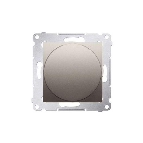 Ściemniacz podtynkowy Kontakt-Simon 54 DS9T.01/44 naciskowo-obrotowy złoty mat, DS9T.01/44