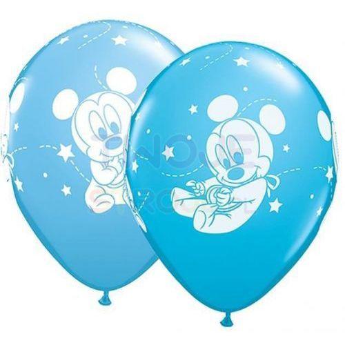 Twojestroje.pl Balon baby mickey mix 27cm 1szt (0071444428392)