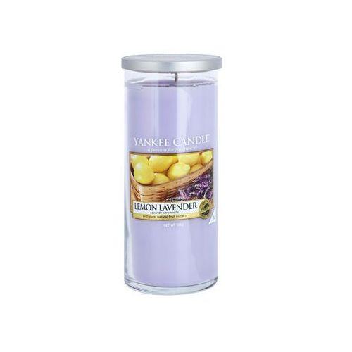 Yankee Candle Lemon Lavender świeczka zapachowa 566 g Décor duża + do każdego zamówienia upominek.