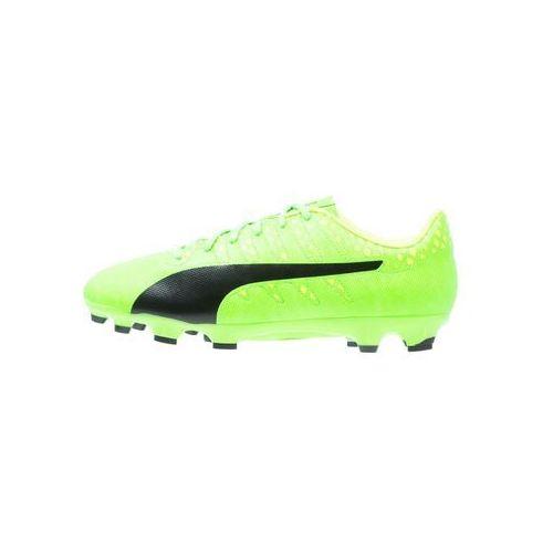 Puma EVOPOWER VIGOR 4 AG Korki Lanki green gecko/black/safety yellow z kategorii Piłka nożna