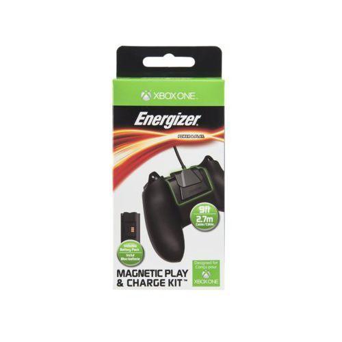 Energizer Zestaw ładujący 048-030-eu magnetyczny play & charge kit do kontrolera xbox one (0708056055523)