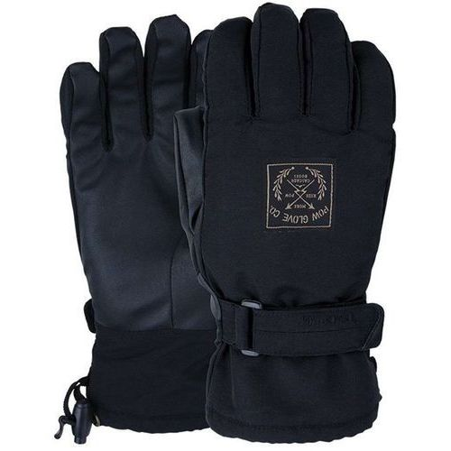 Rękawice snowboardow - xg mid glove black (short) (bk) rozmiar: l marki Pow