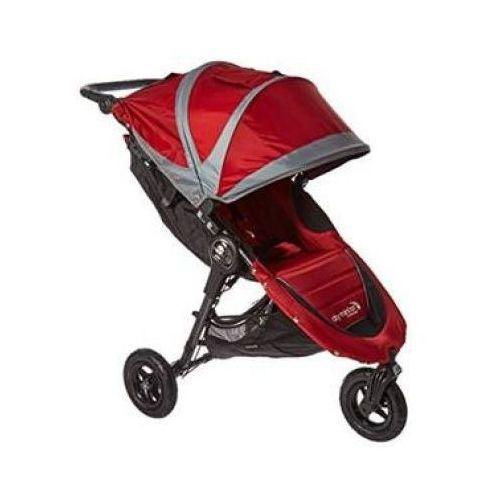 Baby jogger wózek spacerowy city mini gt crimson / gray marki Babyjogger
