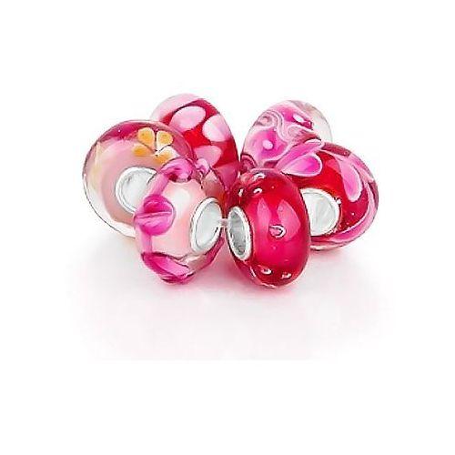 Murrano Zestaw koralików charms 925 wiosenna inspiracja