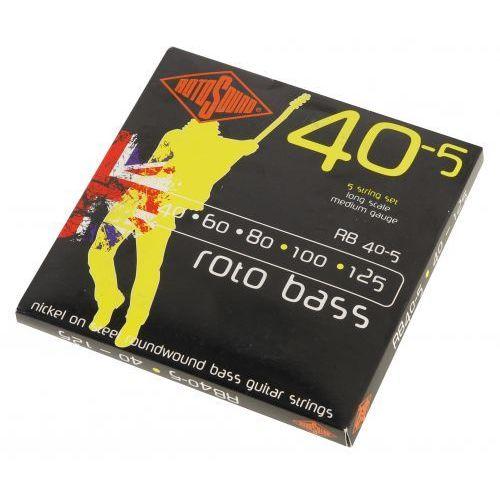 rb 40-5 struny do gitary basowej 40-125 marki Rotosound