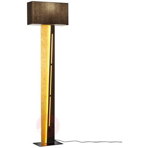 Ściemniana lampa stojąca nestor z dodatkowymi led marki Trio leuchten