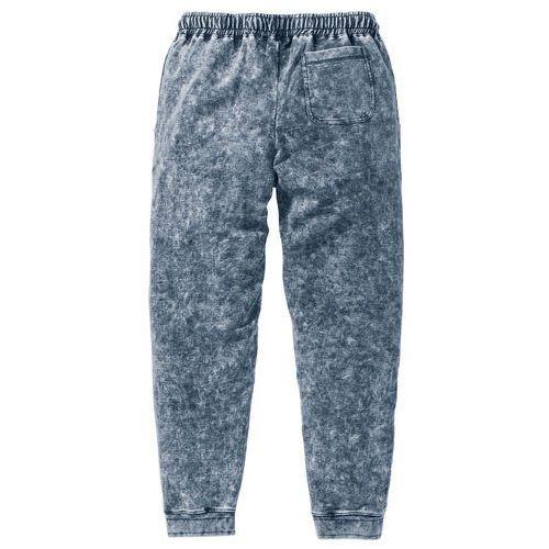 Spodnie dresowe Slim Fit bonprix szary