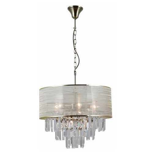 Italux torreia pnd-45660-8 lampa wisząca zwis 2x40w e14 mosiądz (5900644314523)