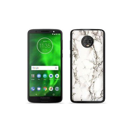 etuo Fantastic Case - Motorola Moto G6 - etui na telefon Fantastic Case - biały marmur