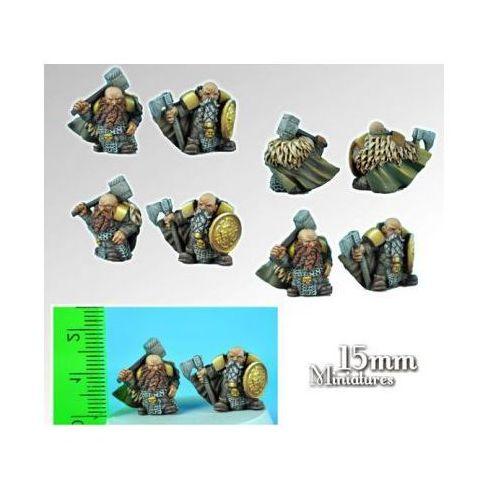 Scibor 15fm0001 - dwarves lords 15mm marki Scibor miniatures