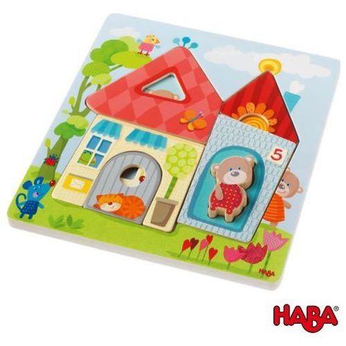 Haba Drewniane Puzzle Domek Misia z kategorii Puzzle