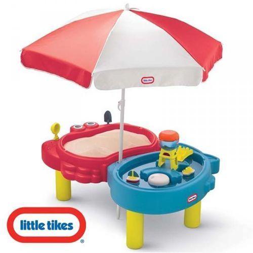 piaskownica wodny stół czerwono-niebieska marki Little tikes