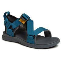 Columbia Sandały - sandal bm0102 graphite/phoenix blue 053