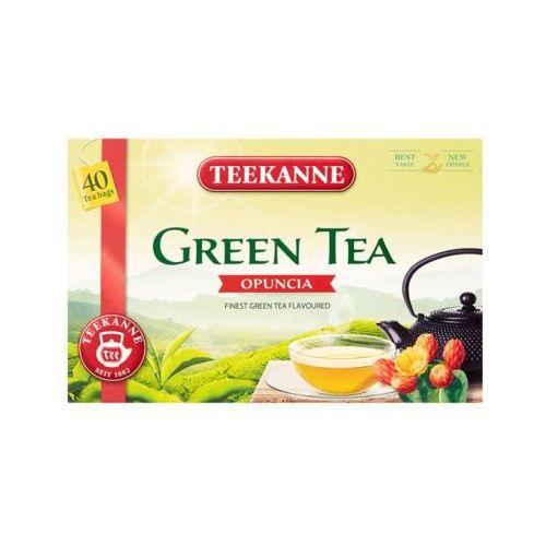 Teekanne 40x1,65 green tea herbata zielona z opuncją (40 torebek)
