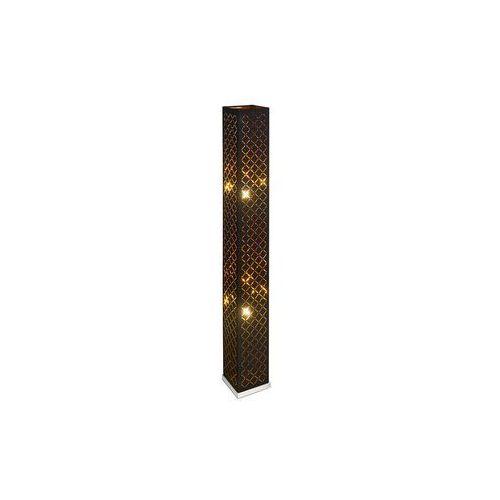 Lampa podłogowa Clarke 2 x 40 W E27 czarna / złota (9007371369478)