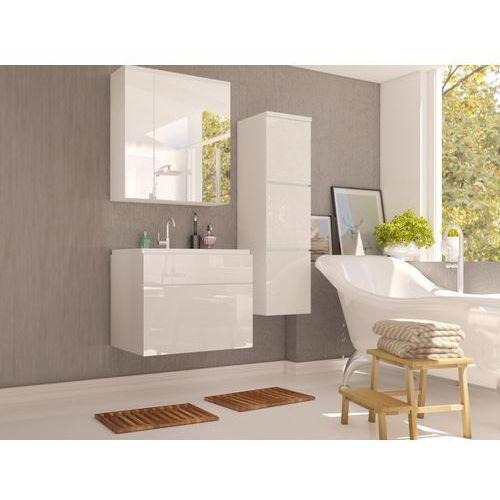 Shower design Komplet solene - meble łazienkowe - biały lakier