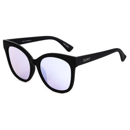 Quay australia Okulary słoneczne qw-000144 its my way blk/purp