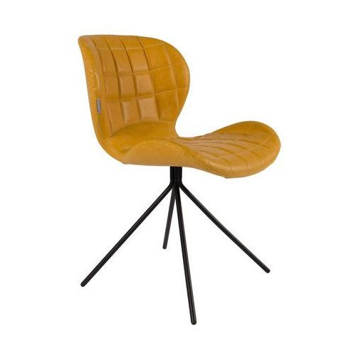 Zuiver krzesło omg ll żółte 1100251