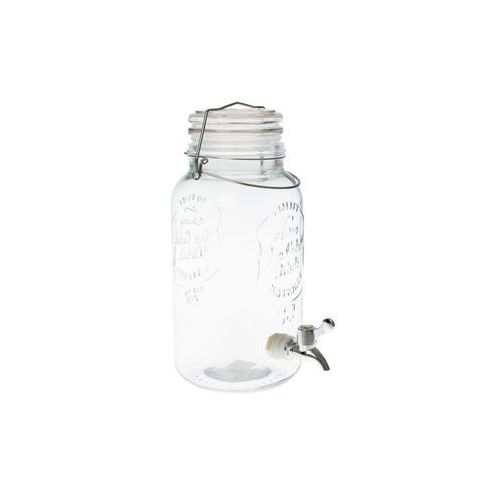 Mondex Słój butelka szklana z kranikiem kranem 4 litry