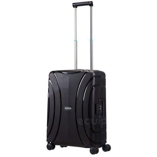 Walizka kabinowa American Tourister Lock'n'Roll + gratis poduszka podróżna - jet black (5414847730269)