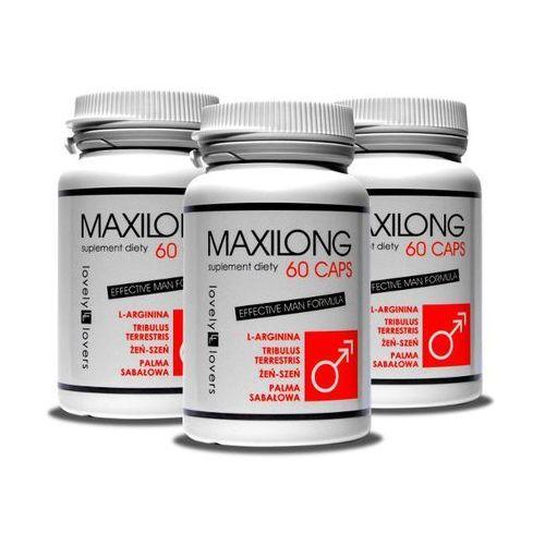 Lovely lovers Maxilong skuteczne powiększenie penisa 60 caps. x3 | 100% dyskrecji | bezpieczne zakupy