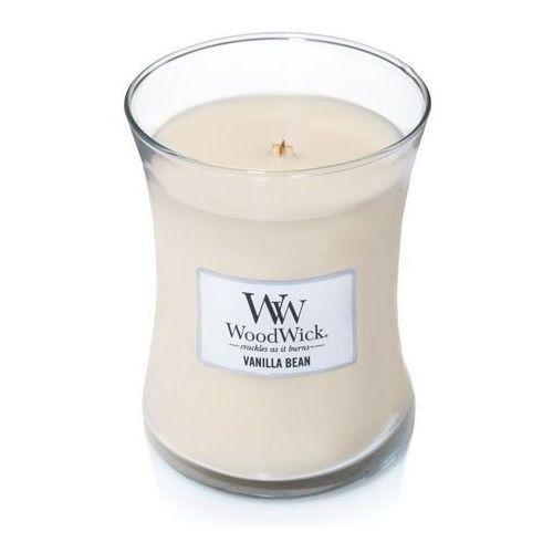 srednia swieca WOODWICK Vanilla Bean - 92112