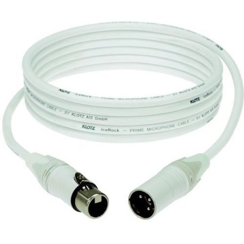 Klotz przewód mikrofonowy biały 10m