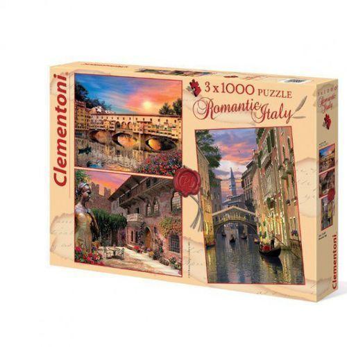 3x1000 el. romantic italy marki Clementoni