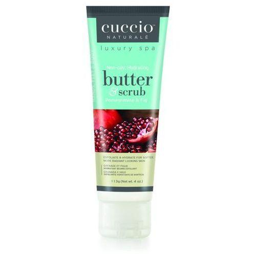 butter & scrub pomegranate & fig | scrub do ciała owoc granatu i figa - 113g marki Cuccio