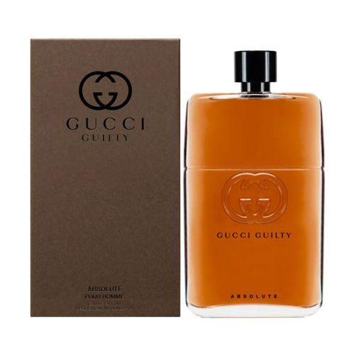 guilty absolute pour homme woda perfumowana 50 ml dla mężczyzn marki Gucci