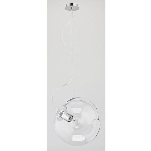 Lampa wisząca zwis żyrandol Alfa Yalem 1x60W E27 chrom/przeźroczysta 60024 (5900458600249)