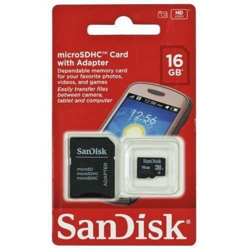 Karta pamięci z adapterem SanDisk SDSDQM-016G-B35A (16GB; Class 4), 2_237385