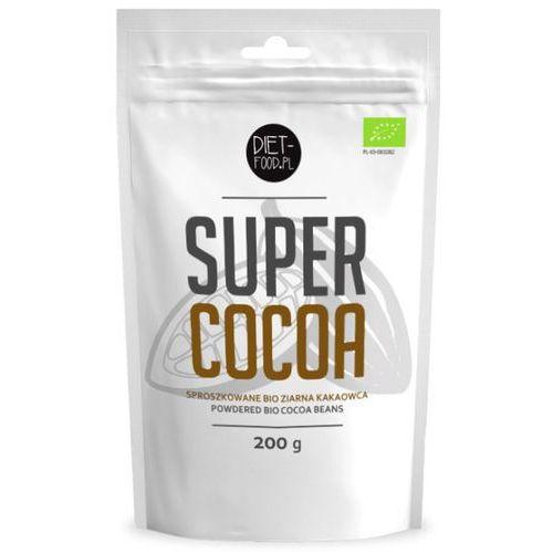 Diet-food Surowe ziarno kakaowca puder bio 200 g (5901549275254)