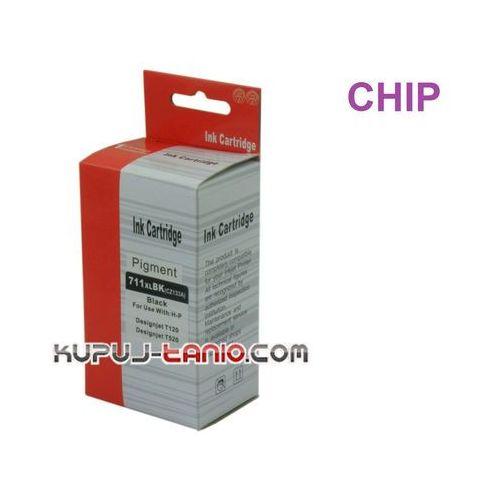 .HP 711 XL Black (Arte) tusz do HP DesignJet T120, HP DesignJet T520, HP DesignJet T150 (6949853471114)