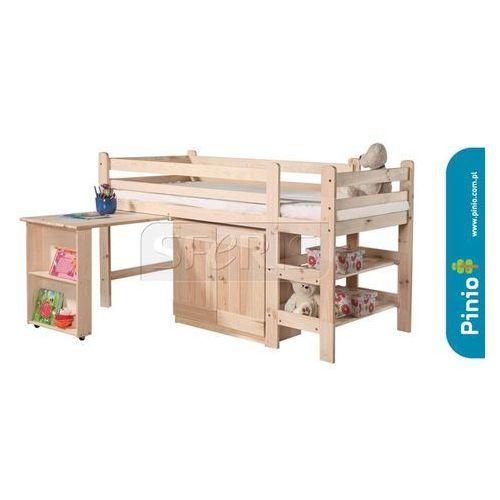 Łóżko wysokie 190x90 Pinio bed 1 surowe - 800-202-000