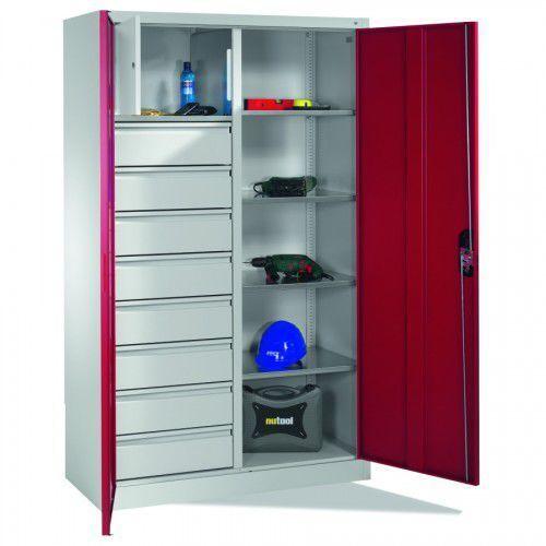 Cp Metalowa szafa warsztatowa - różne wymiary. skarbczyk i 8 szuflad.
