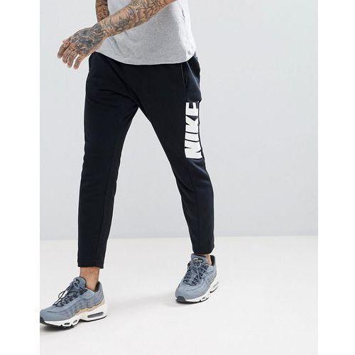 Nike Hybrid Joggers In Tapered Fit In Black 885947-010 - Black, w 5 rozmiarach
