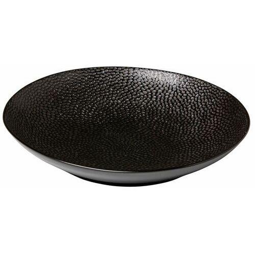 Talerz do pasty honeycomb czarny | śr. 255 mm marki Fine dine