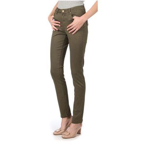 Brave Soul jeansy damskie Joey S khaki, kolor zielony