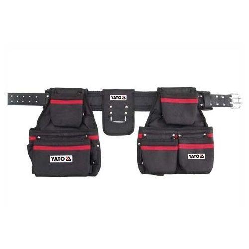 Yato Pas z kieszeniami na gwoździe i narzędzia 120 cm / yt-7400 / - zyskaj rabat 30 zł (5906083974007)