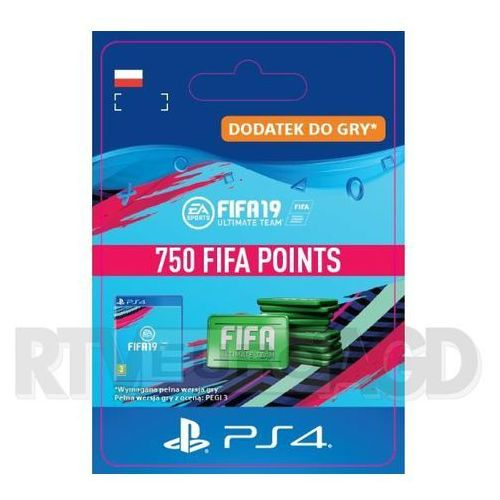 Sony Fifa 19 750 punktów [kod aktywacyjny]