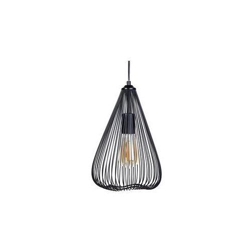 Lampa wisząca metalowa czarna conca marki Beliani